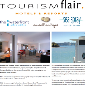 Tourism Flair Brochure